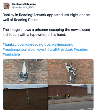 Hobbycraft Reading and the Banksy | #ShopfloorHeroes
