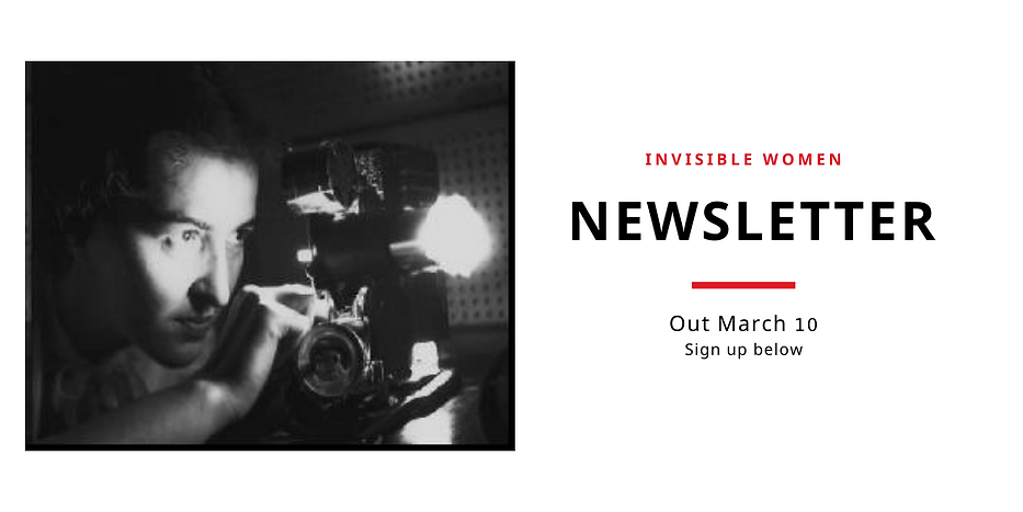 Invisible Women_Newsletter Out Mar 10_si
