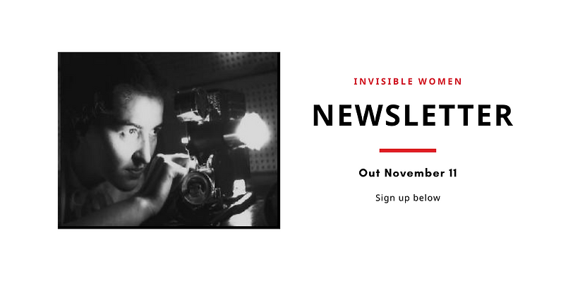 Invisible Women_Newsletter Out November