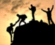 shutterstock_259872872עבודת צוות מטפסים.