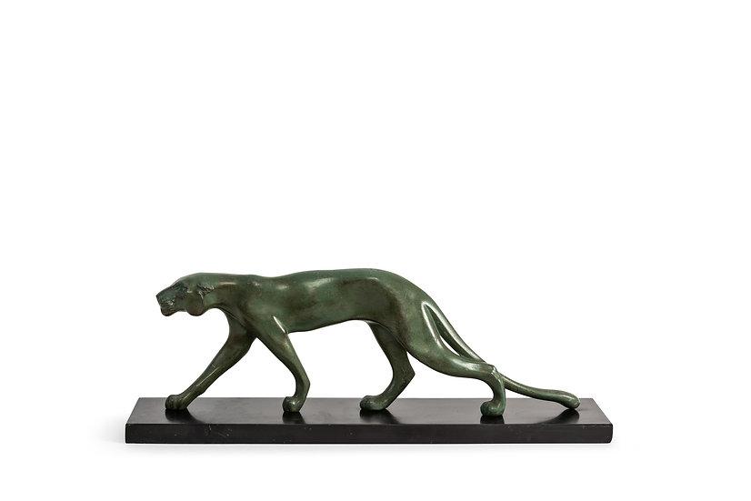"MARTI FONT - Hunting Panther ""Félin""  - 1930 -"