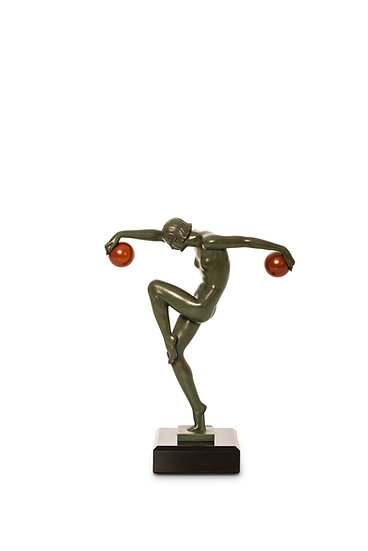 1226 -DENIS – MARCELBOURAINE – Danseuse aux Boules – c.1930 -