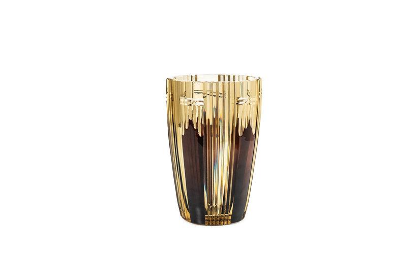 VAL SAINT-LAMBERT - JOSEPH SIMON or CHARLES GRAFFART – vase skyscraper design