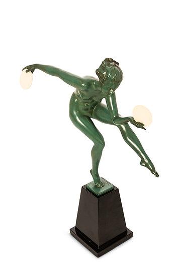 DERENNE - MARCEL BOURAINE – Danseuse Paienne – c.1930 -
