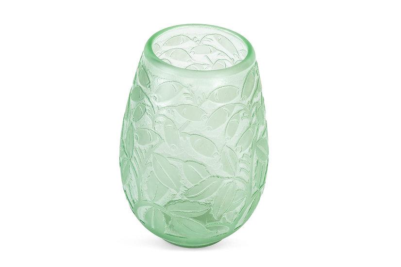 DAUM FRERES - Vase Olives - c. 1930 -