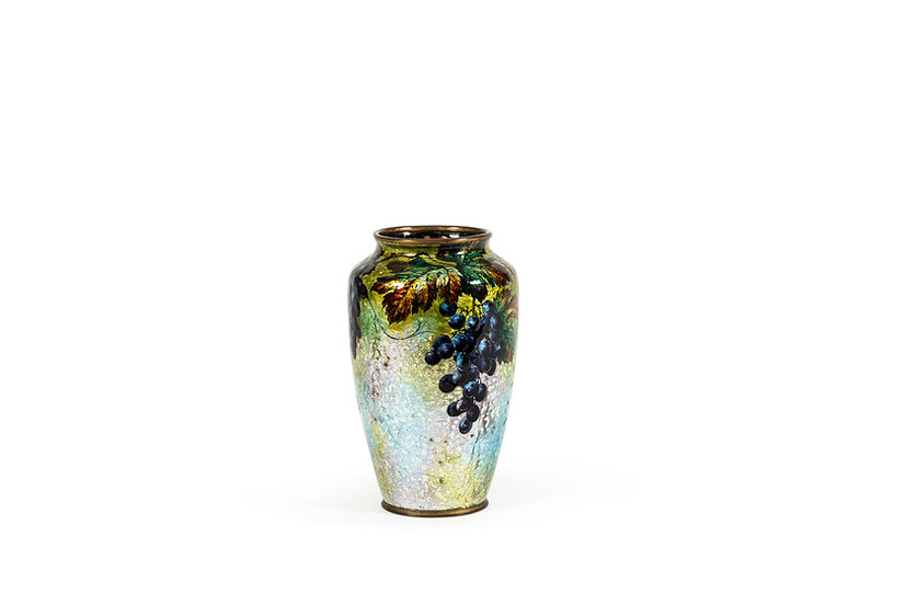 CAMILLE FAURE – ALEXANDRE MARTY - Vase Cassis - c. 1925 -