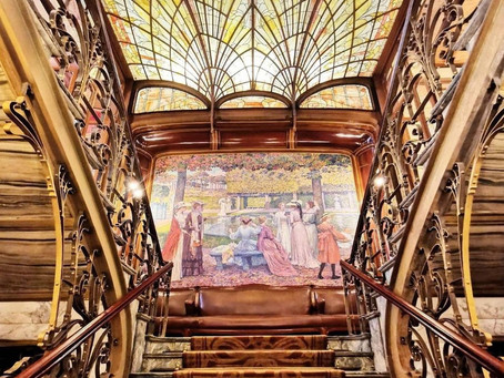 Hotel Solvay by Victor Horta is a museum as of today!