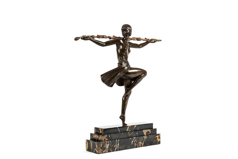 PIERRE LE FAGUAYS – Danseuse au Thyrse/Danseuse au Baton Fleuri – Le Grand Modèl