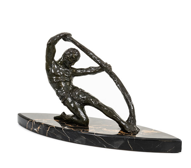 MICHEL DECOUX – L'Homme à l'Arc – c. 1920 -