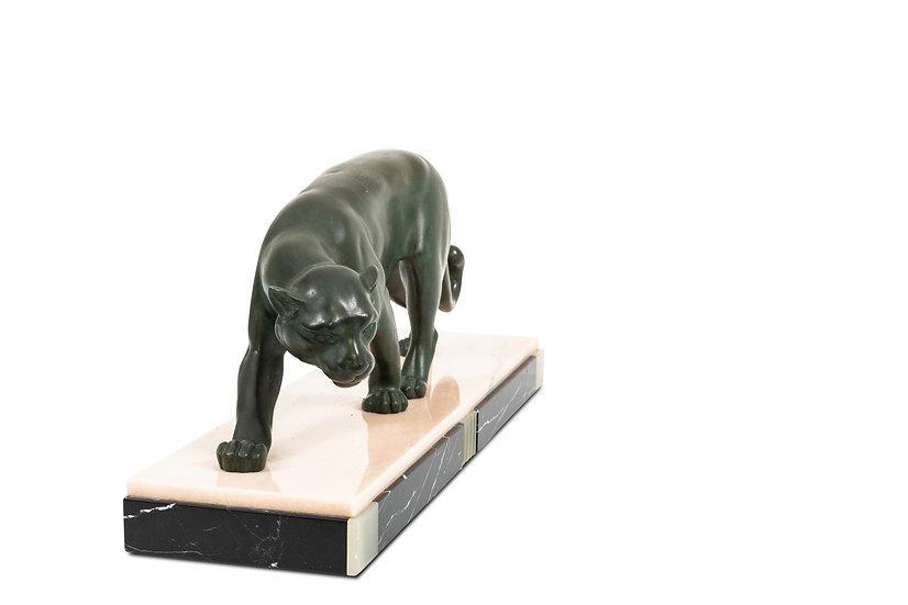 UNKNOWN - Hunting Panther – c.1930