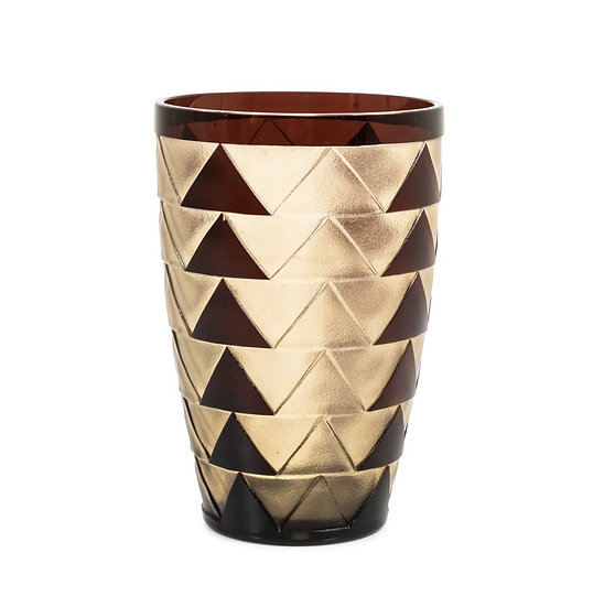 VAL SAINT-LAMBERT - FELIX MATAGNE – Vase triangle design - Septime model -1