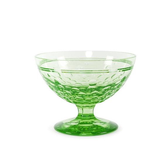 VAL SAINT-LAMBERT - Uranium Crystal Bowl