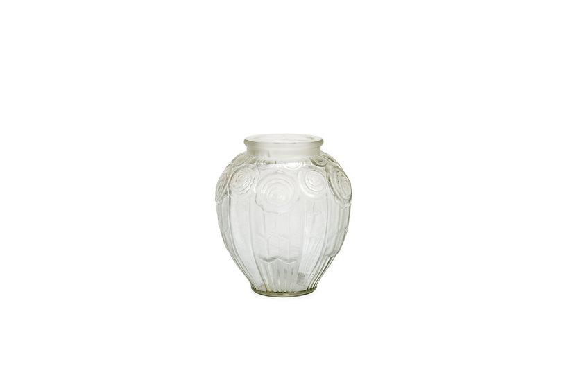 ANDRE HUNEBELLE - Vase Rose