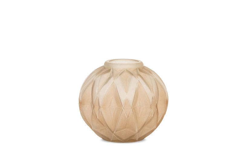 ANDRE HUNEBELLE -  Vase Prisme Le Grand Modèle – c.1928