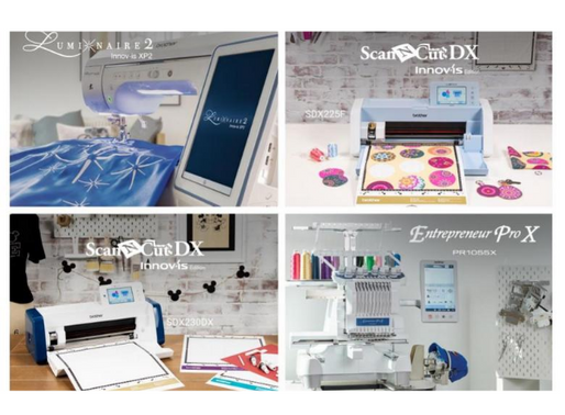 Brother Int. Corp. Announces New Sewing & Embroidery, Crafting Machines Feat. Industry-First Tech