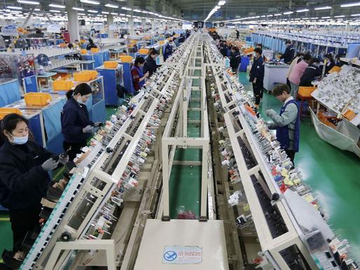 China, Por Largo Tiempo una Fuente de Deflación, Hoy Comienza a Incrementar los Precios al Mundo