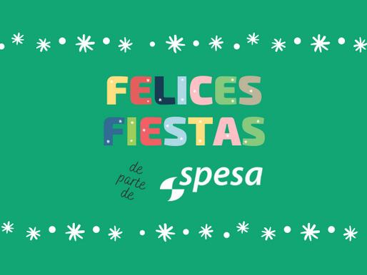¡Felices Fiestas de Parte de SPESA!