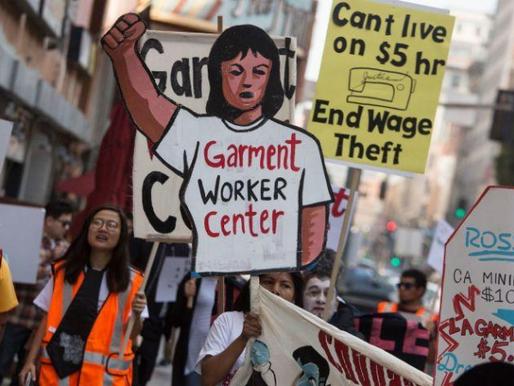 El Robo de Salario Invade a los Trabajadores de Prendas en L.A.