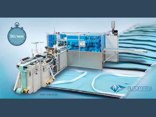 Entrega | Automatex Entrega Sus Primeras Máquinas para la Manufactura de Mascarillas Protectoras