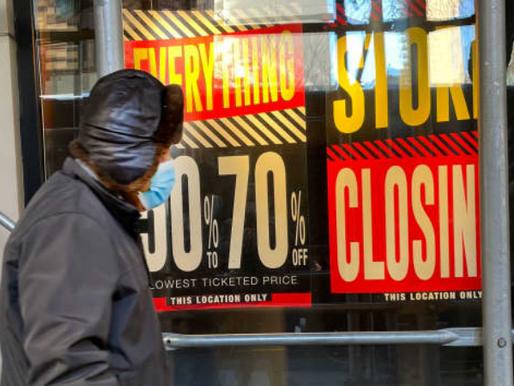 Se Espera que 10,000 Tiendas Cierren, la Pandemia Continúe Derribando las Cadenas de Tienda