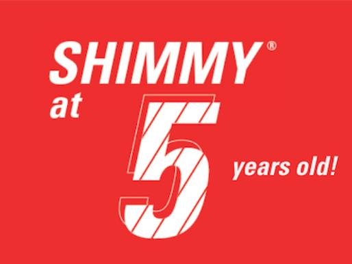 Shimmy at 5!