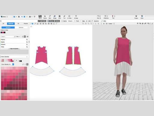 Plataforma de Diseño 3D Browzwear Tocas las Puertas de la Vasta Biblioteca de Color de Archroma