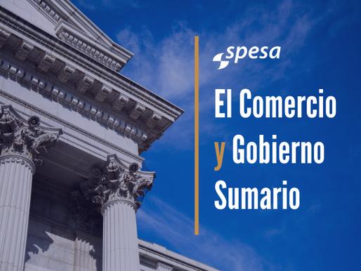 Rondas de Comercio & Gobierno para Agosto