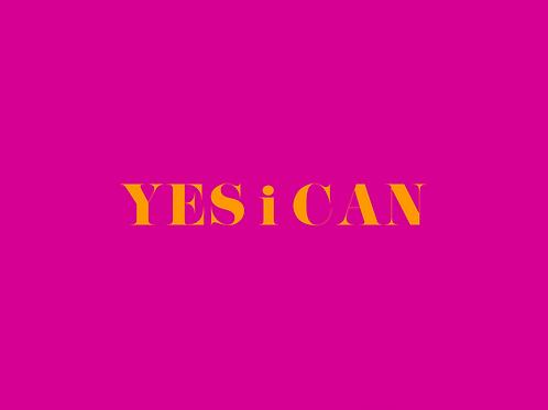 פוסטר Yes i can