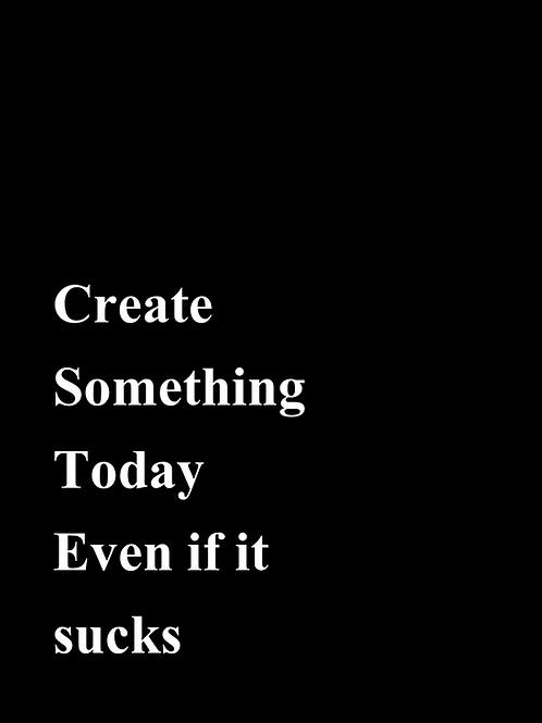 פוסטר Create something