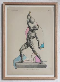 Upcycled vintage illustration 2015