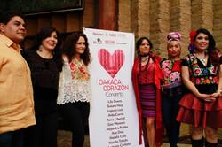 Conferencia de prensa Oaxaca Corazón