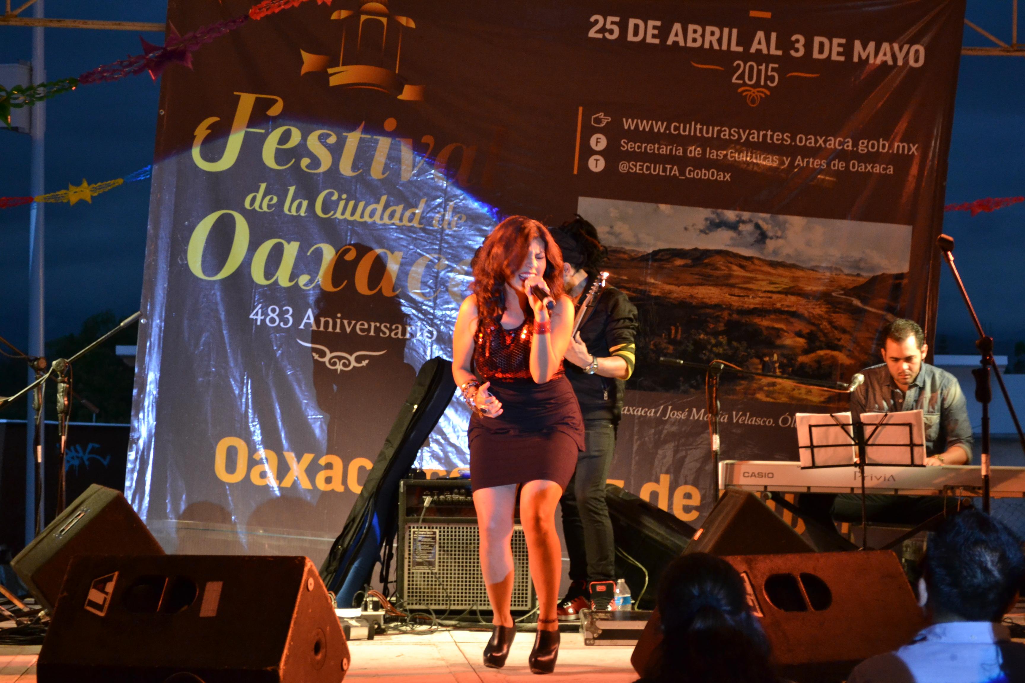 FESTIVAL DE LA CIUDAD DE OAXACA 2015