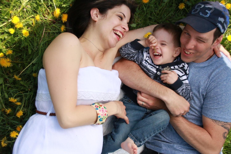 Séance photo maternité
