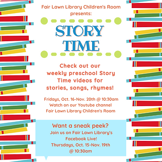 Fair Lawn Library Children's Room presen