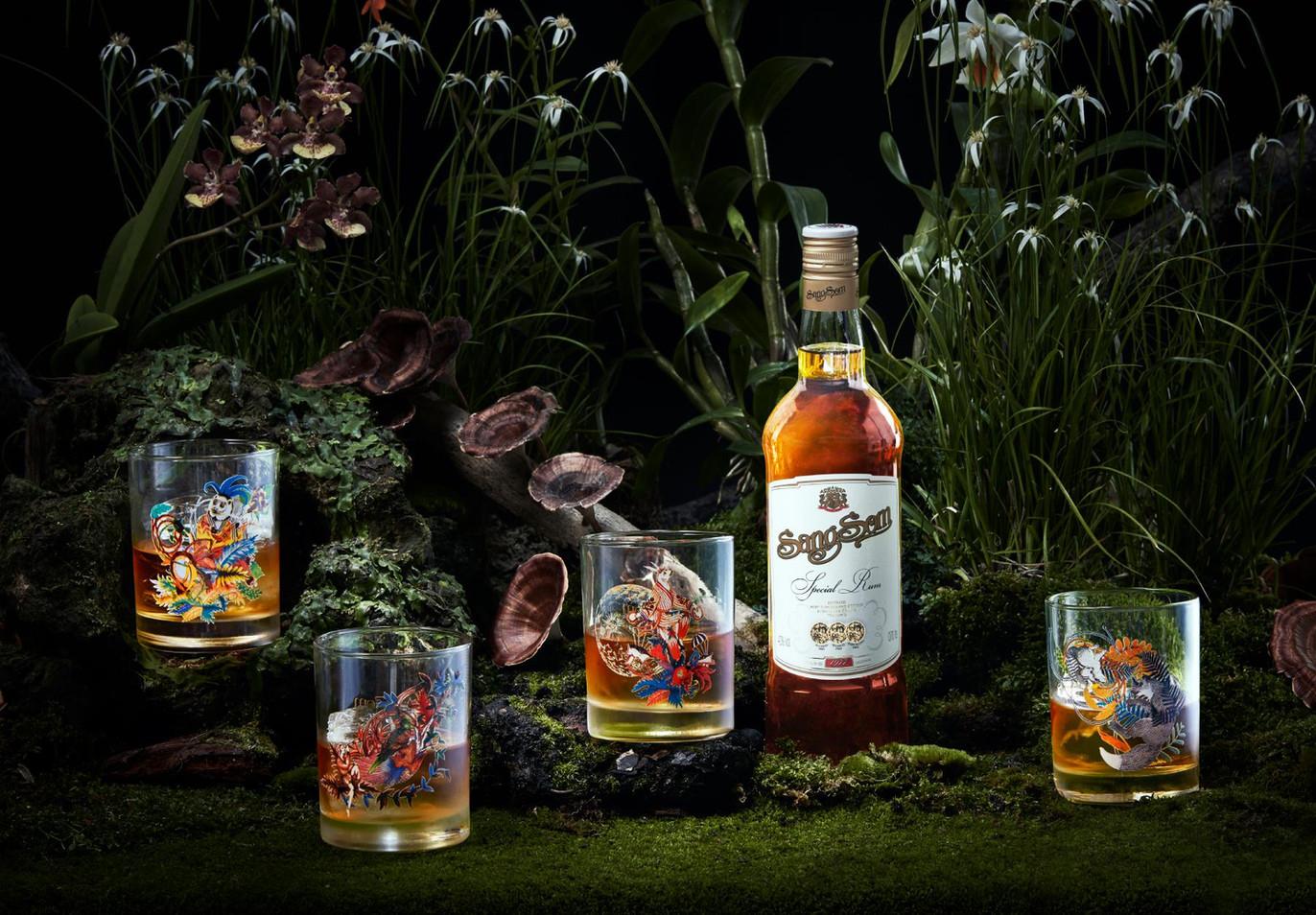 The Jungle Glass