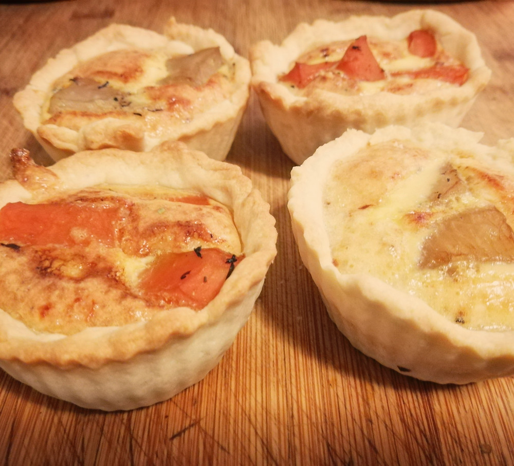 Quichette carottes et navet