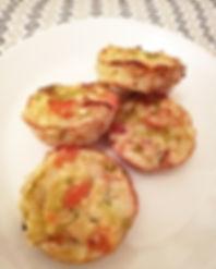 Moelleux façon muffin aux lentilles corail et légumes du pot au feu (carotte, navet, poireaux)