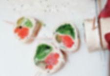 Atelier de cuisine / Mini-Wraps