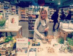 Animation culinaire bio / Carrefour Market / Dégustion / Conseils diététiques