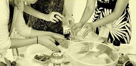 Atelier de cuisine EVJF