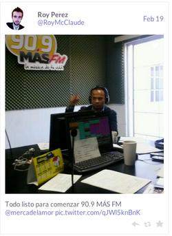 En la Radio en San Luis