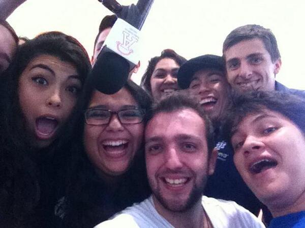 Selfie en Radio Anahuac =)