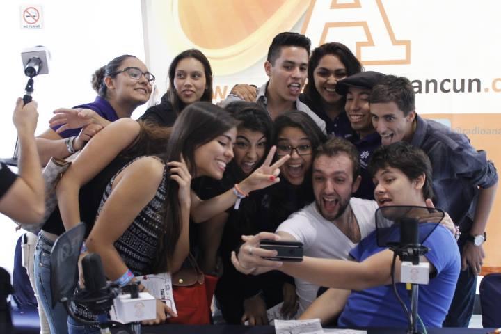 Selfie en Radio Anahuac