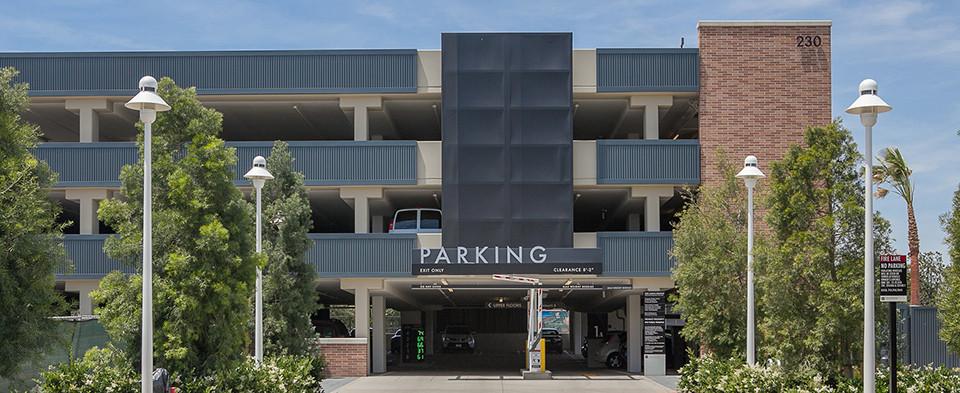 Chapman Univ. Parking Garage