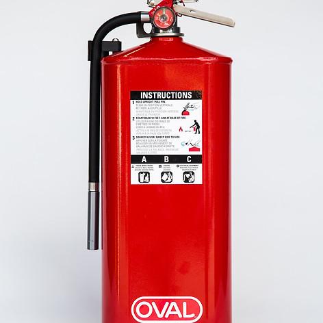 SL-10ABC Slimline Fire Extinguisher 10 Pound Red