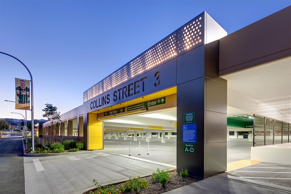 Cal Poly Pomona Parking Garage