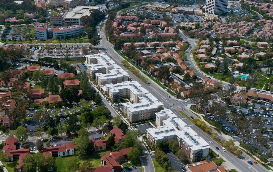 UCI Dorm Campus
