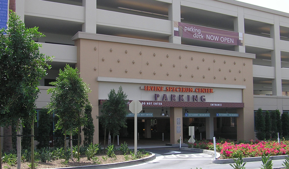 Spectrum Irvine Parking Garage