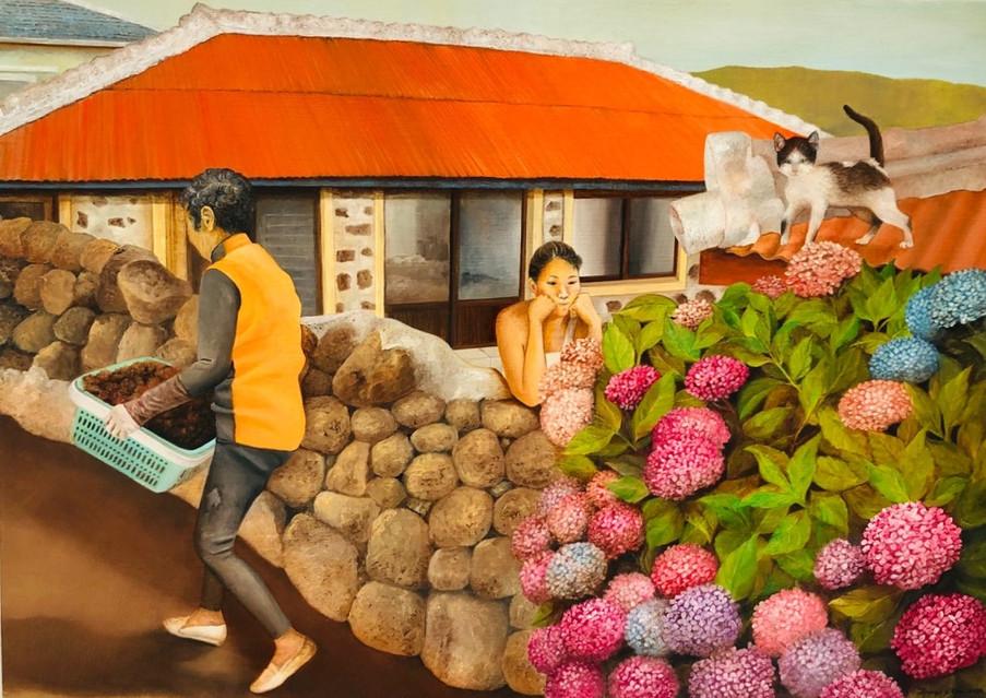 동상이몽, Oil on Canvas 53×73