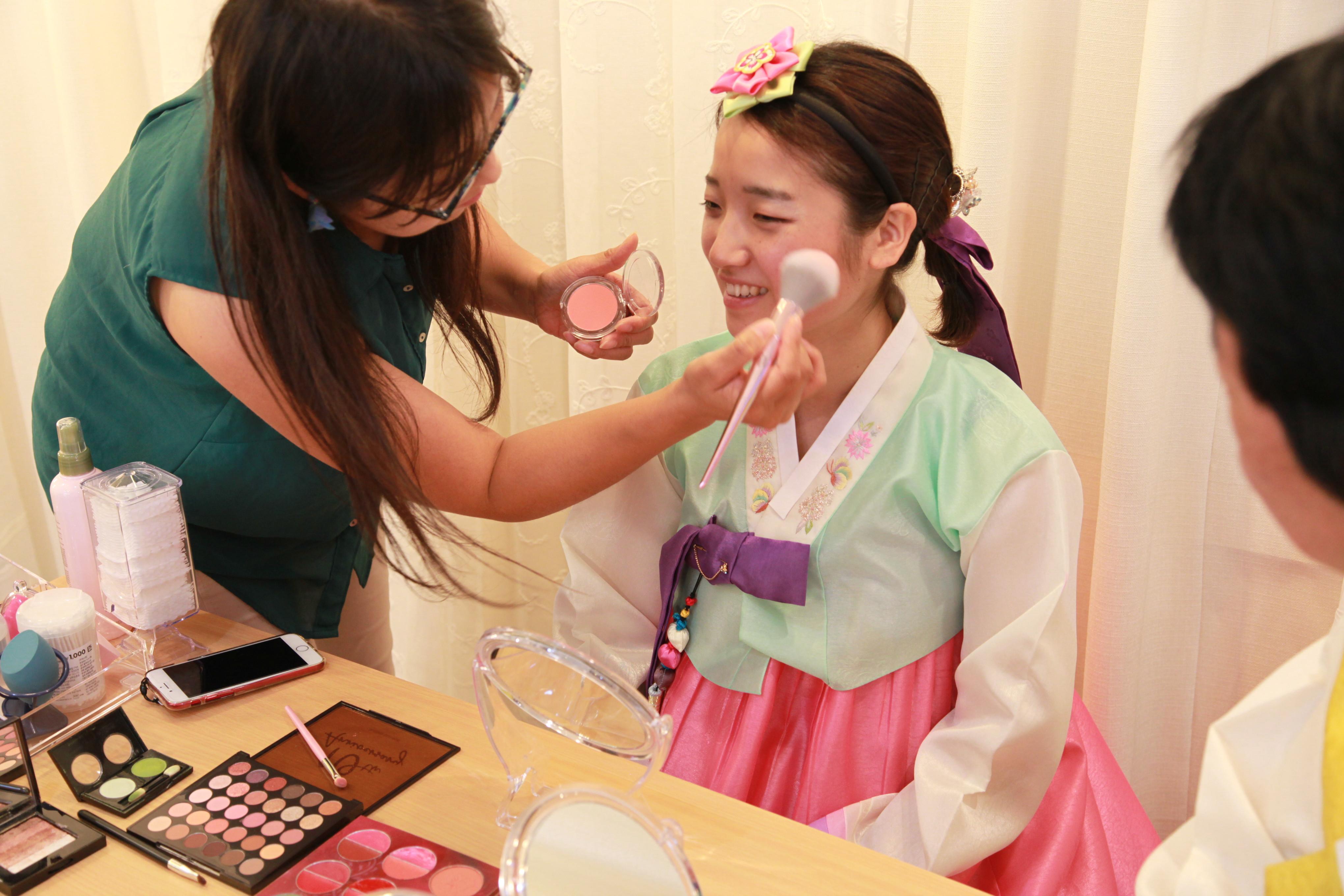 Hanbok Styling&Korean Make-up Experience